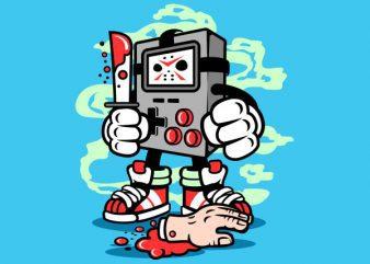 Gamers Killer Graphic t-shirt design