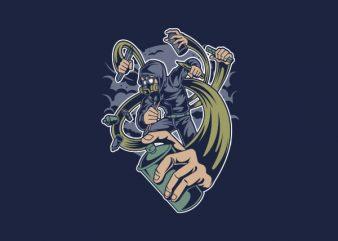 Grafity Artist Vector t-shirt design