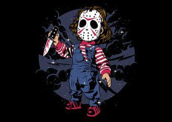 Jason Kid Vector t-shirt design