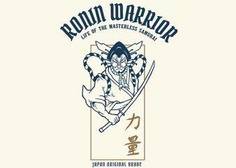 Kabuki Vector t-shirt design