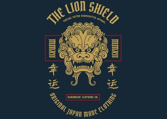 Lion Graphic t-shirt design