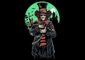 Mad Hatter Graphic t-shirt design