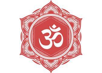 Mandala Om Symbol t shirt designs for sale