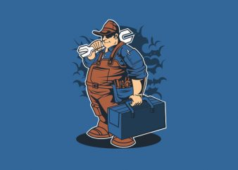 Mechanic Graphic t-shirt design