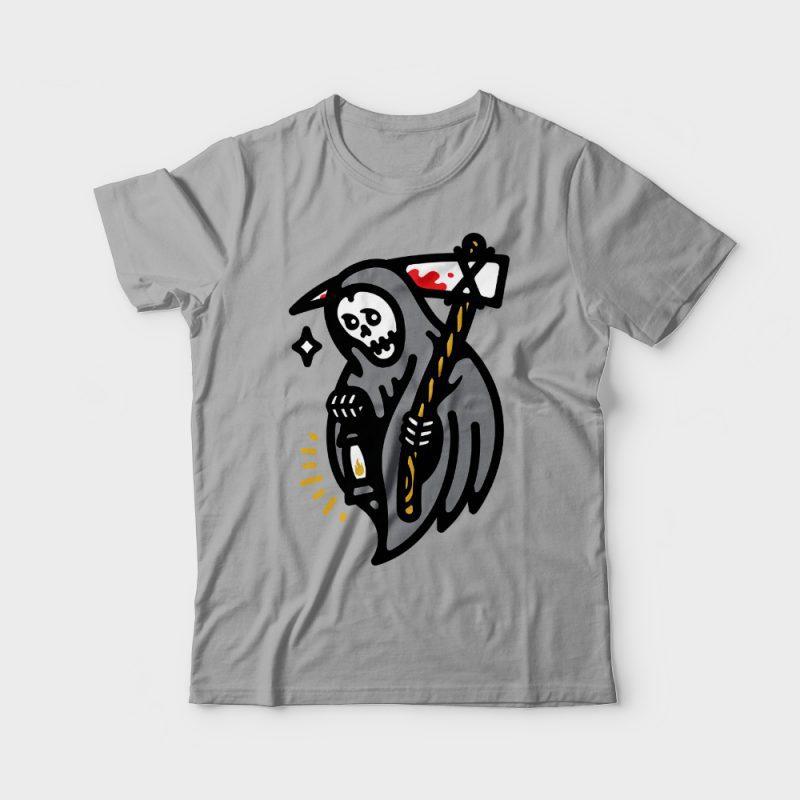 Grim Lantern t-shirt designs for merch by amazon