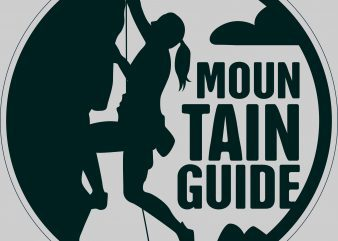 Mountain Good Guide t shirt designs for sale
