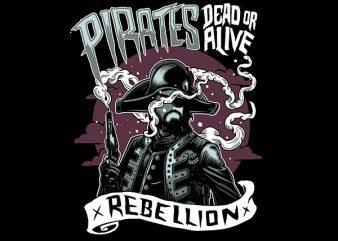 Pirates Vector t-shirt design