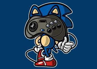 Player Head 2 Vector t-shirt design