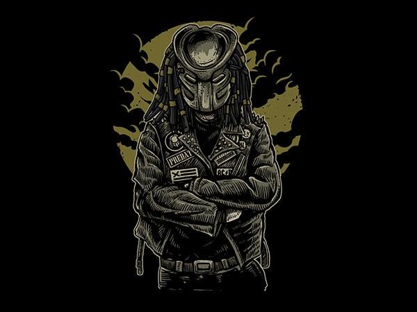 Predator Vector t-shirt design