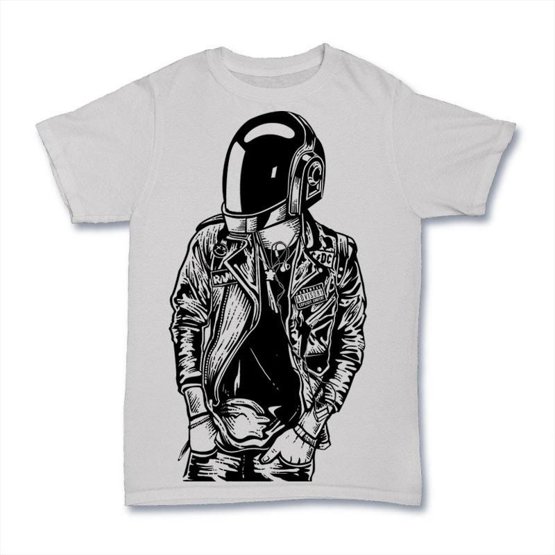Punkster Vector t-shirt design t shirt designs for sale