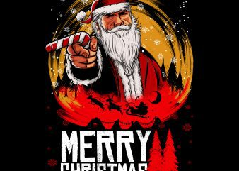 RDR Santa t shirt design online