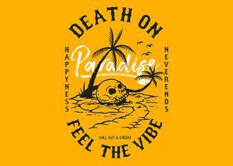 Skull Island Graphic t-shirt design
