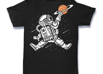 Space Jump Graphic t-shirt design