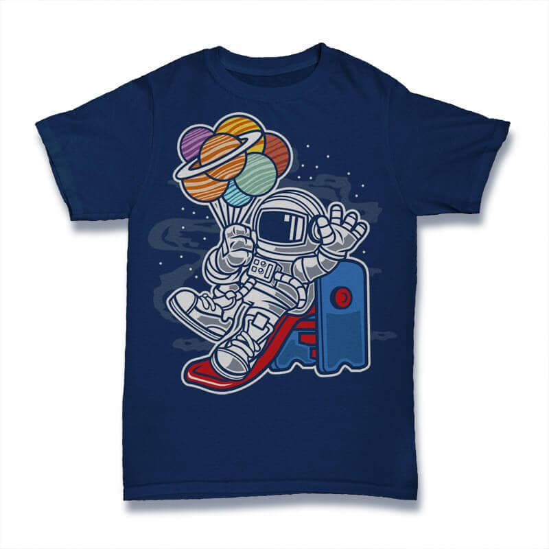 Space Slider Graphic t-shirt design buy tshirt design