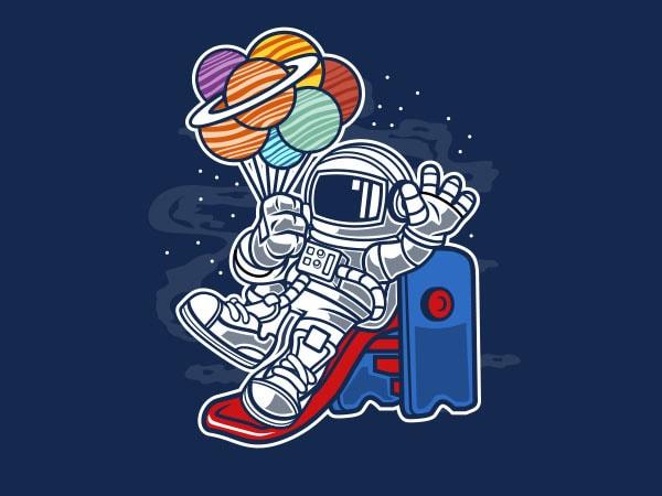 Space Slider Graphic t-shirt design