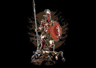 Sparta Graphic t-shirt design