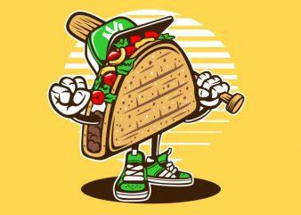 Taco Graphic t-shirt design