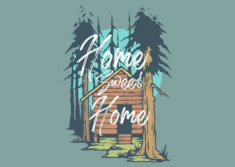 The Cabin Graphic t-shirt design