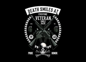 Veteran Vector t-shirt design