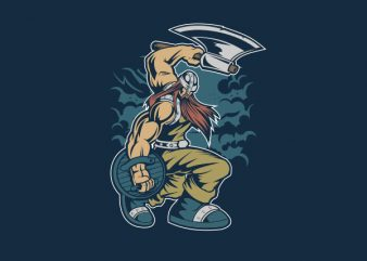 Viking Vector t-shirt design