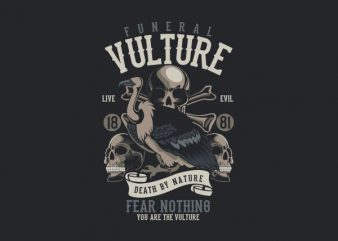 Vulture Vector t-shirt design