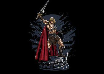 Warrior Vector t-shirt design