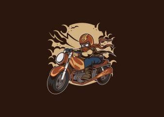Wild Biker Svg Vector t-shirt design