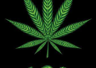 cannabis badge design , icon