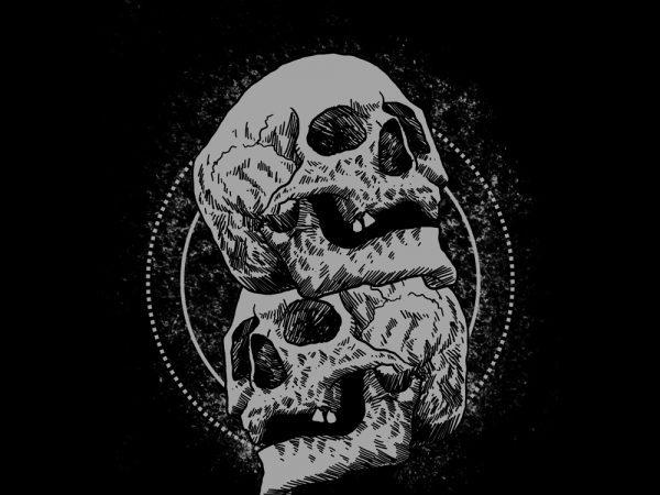 dead tshirt design