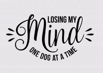Losing My Mind t shirt design for sale