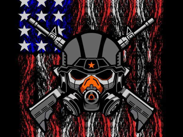 Military black ops T-shirt template design