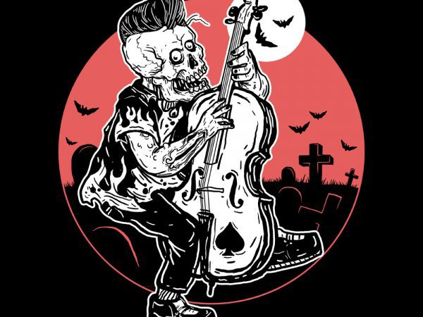 rockabilly tshirt design