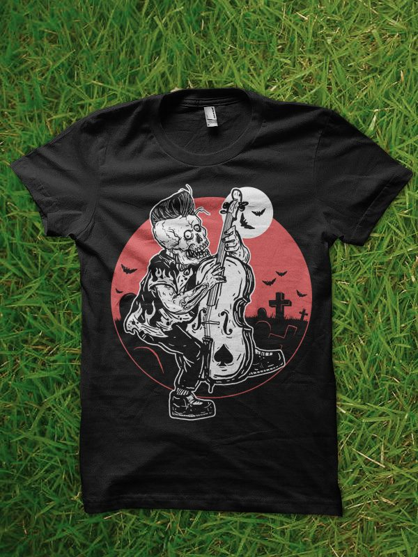 rockabilly tshirt design t shirt designs for sale