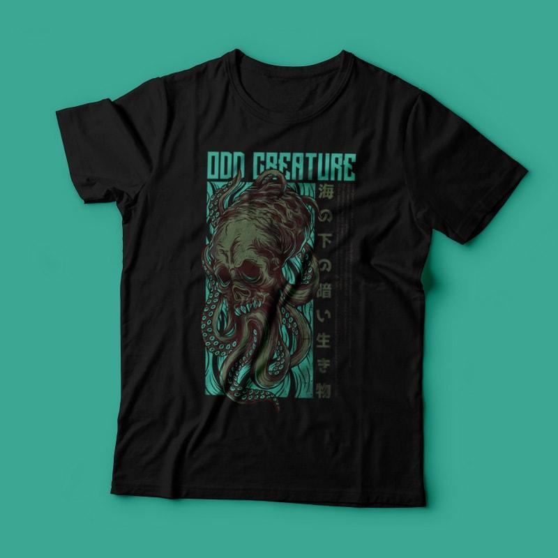 Odd Creature T-Shirt Design t shirt designs for teespring