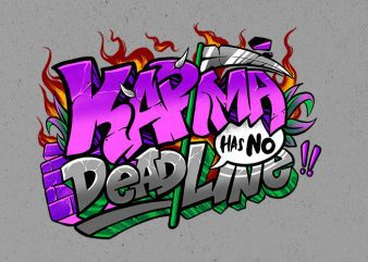 karma shirt design