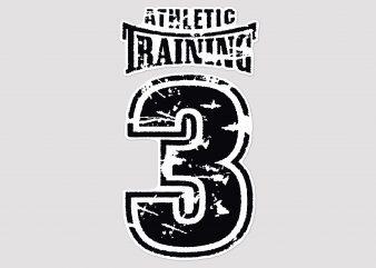 Athletic Training Tshirt Design