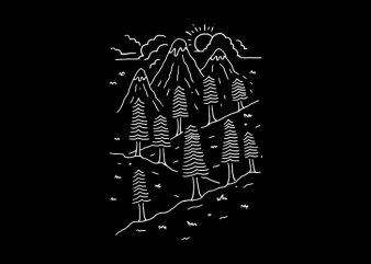 Hiking Trails buy t shirt design artwork