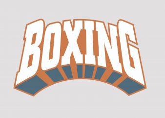 Boxing t shirt design png