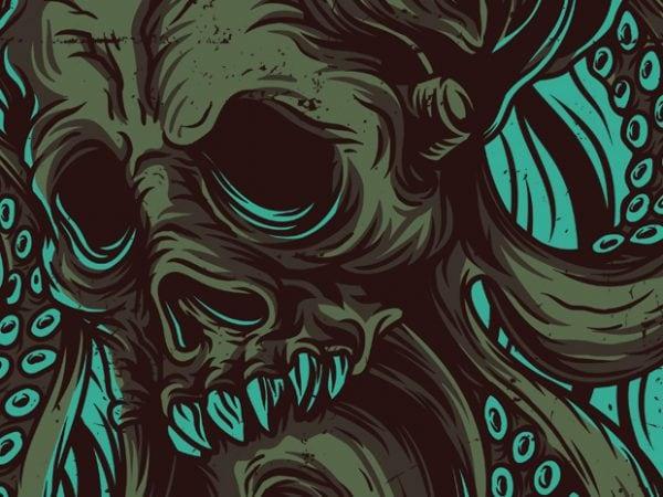 Odd Creature T-Shirt Design