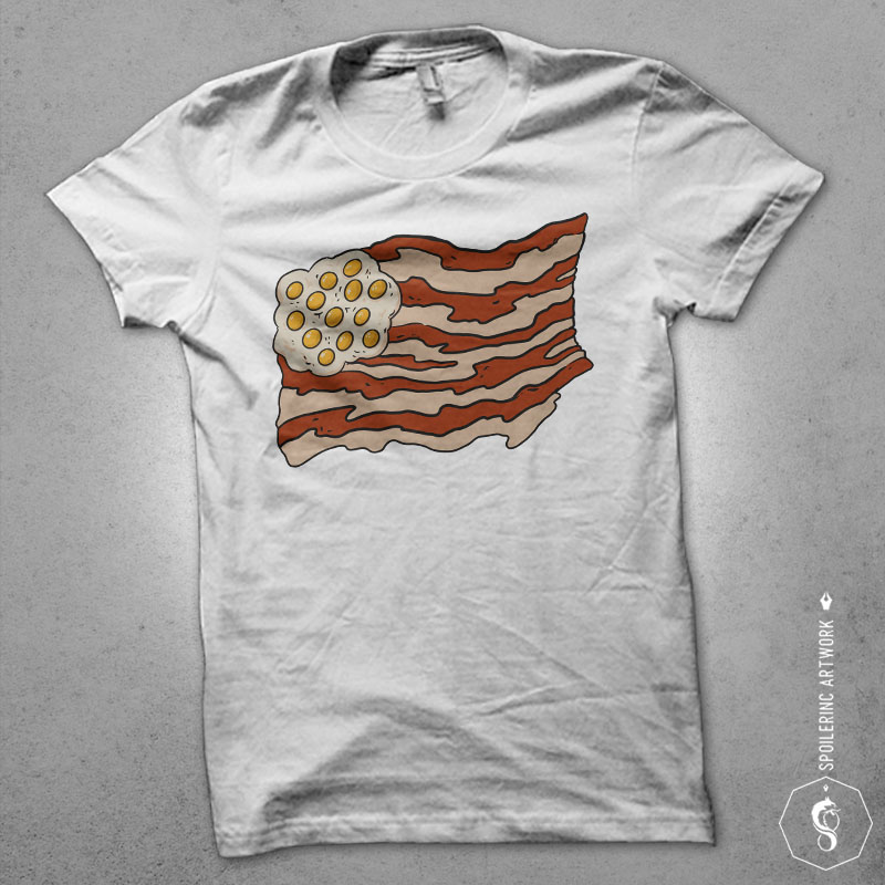 proud to be a bacon Graphic t-shirt design vector t shirt design