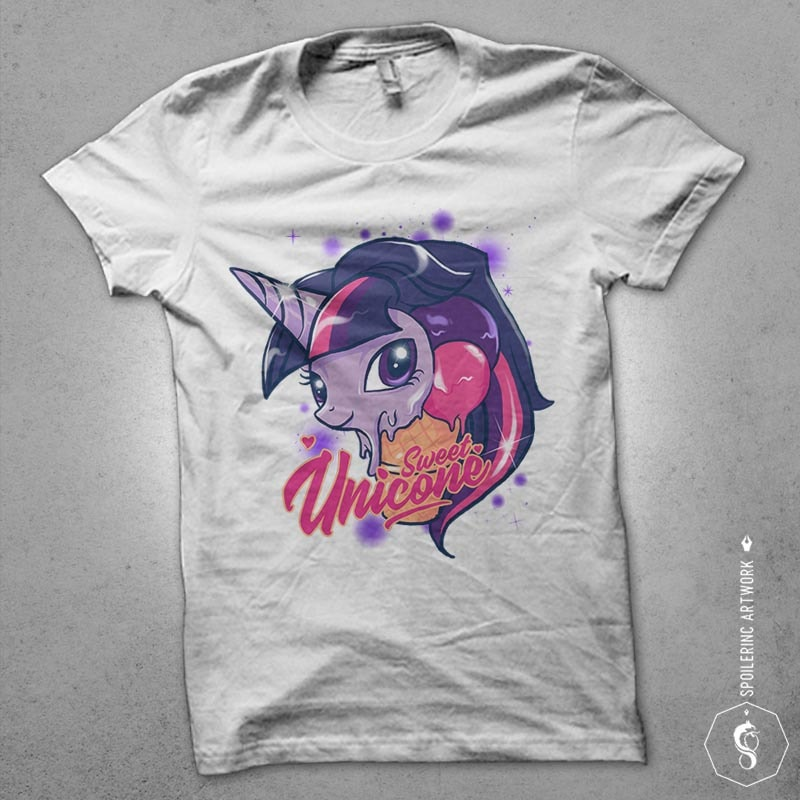 unicone Graphic t-shirt design buy t shirt design