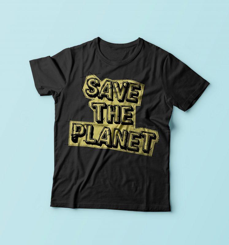 Save The Planet tshirt-factory.com