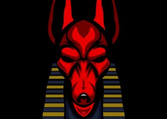 anubis t shirt design png