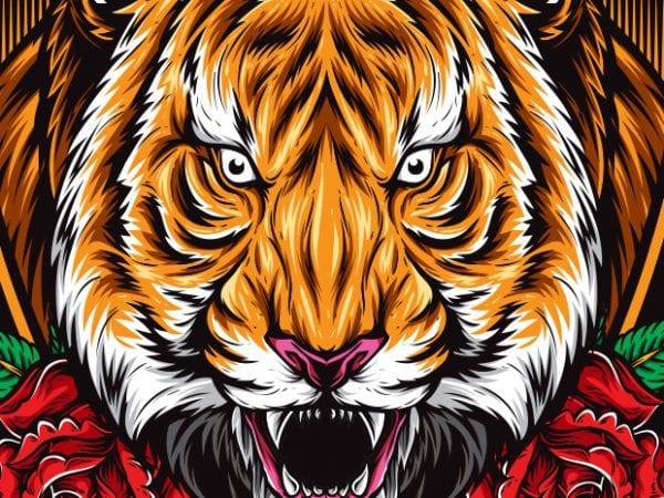 Beast graphic t-shirt design
