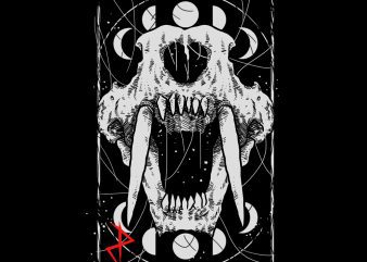 death fang tshirt design