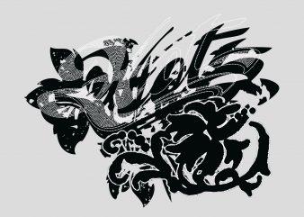 Hot Dragon vector t shirt design artwork