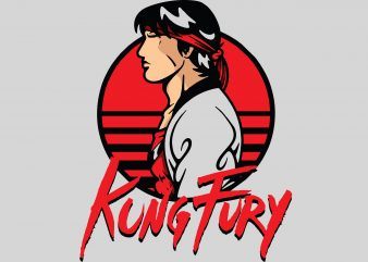 Kingfury t shirt vector art