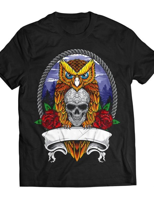 Nocturnal buy t shirt designs artwork