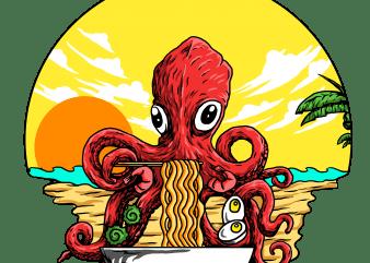 octopus t shirt design online