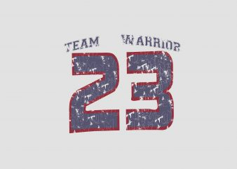 Team Warrior t shirt designs for sale